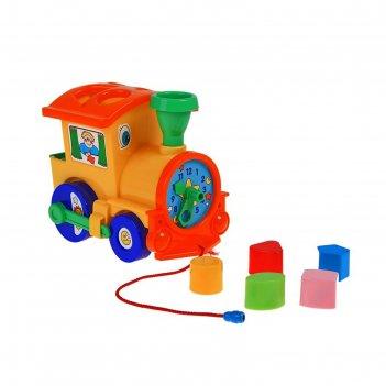 Игрушка-сортер «занимательный паровоз»
