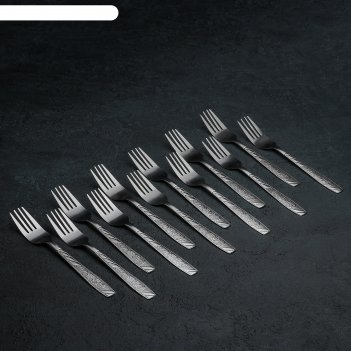 Набор вилок столовых «паритто», h=18 см, 12 шт