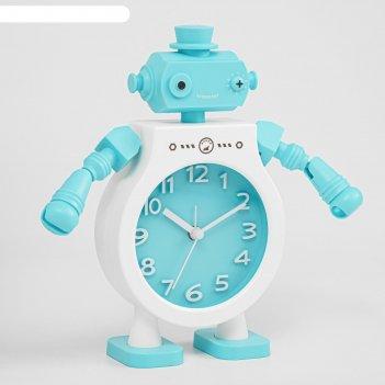 Будильник. серия робот техно-бот  микс  16*6*20,5см
