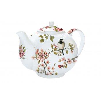 Чайник с ситечком сакура, 1 л