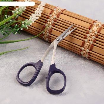 Ножницы для вышивки 10см тонкие изогнутые