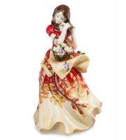 Jp-12/15 статуэтка леди (pavone)