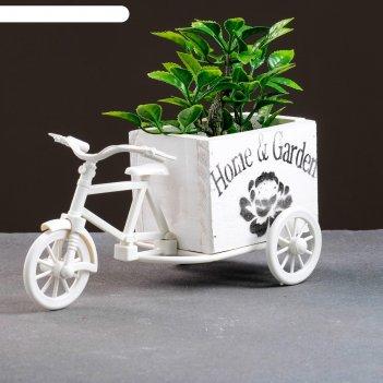 Кашпо-велосипед 23*12*11см