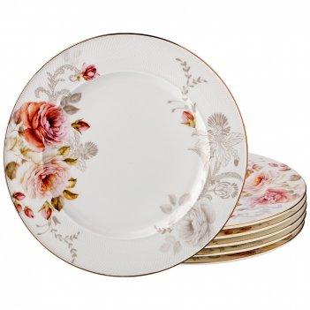 Набор десертных тарелок 6 шт. анджи диаметр=20см. (кор=6набор.)
