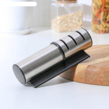 Точилка ракета, для ножей с металлическим, керамическим лезвием и полировк