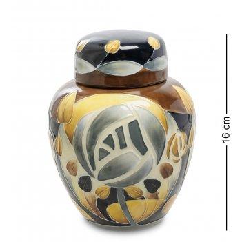 Jp-800/ 1 ваза с крышкой s16
