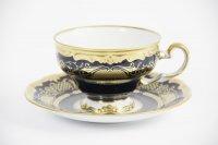 """Набор чайный 210мл на 6перс.12пред.подарочный """"симфония кобальт"""""""