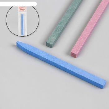 Пилка керамическая для ногтей и кутикул, цвета микс