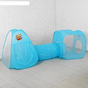Игровая палатка с туннелем чемпион