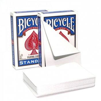 Карты bicycle blank card both sides