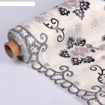 Клеенка ажурная lace, ширина 50 см розы, рулон 20 м