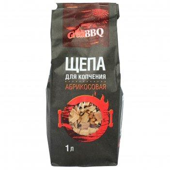 Щепа greatbbq абрикос 1 л