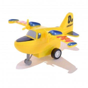 Самолёт инерционный «воздушный герой», микс