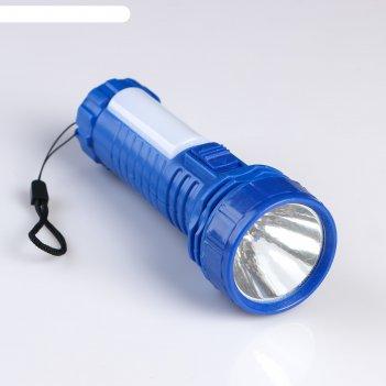 Фонарь ручной колор, 2 типа освещения, 3 аа, 8 led, 2 режима, микс, 5.5х5.