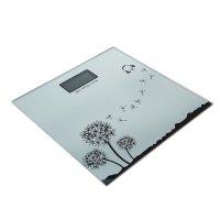 Весы электронные напольные до 180 кг, одуванчик, (28*28 см), с подсветкой