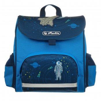 Ранец дошкольный herlitz mini softbag, 24 х 26 х 14, для мальчика, space,