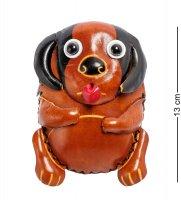 Bl-48/1 кошелёк кожаный собака
