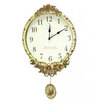 Настенные часы с маятником b&s sa 2301 w