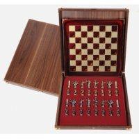 Шахматы сувенирные  троянская война
