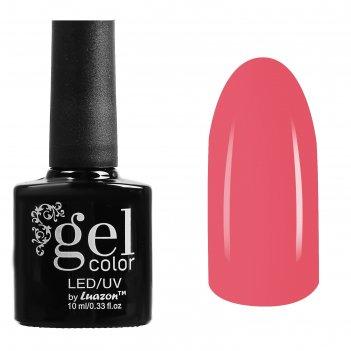 Гель-лак для ногтей трёхфазный led/uv, 10мл, цвет в1-023 темно-розовый