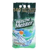 Стиральный порошок waschemeister universal универсальный,10,5 кг