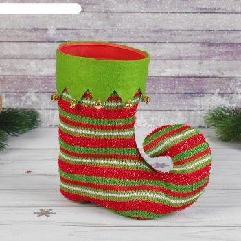Подарочная упаковка сапожок закругленный носок