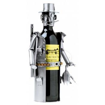 6051  украшение для бутылки охотник d 9,5 см