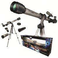 Набор для исследований детский переносной телескоп с треногой