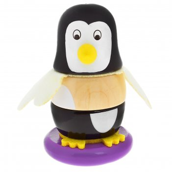 Пирамидка пингвинчик, 6 элементов