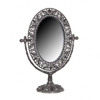 Зеркало настольное 26*19 см.