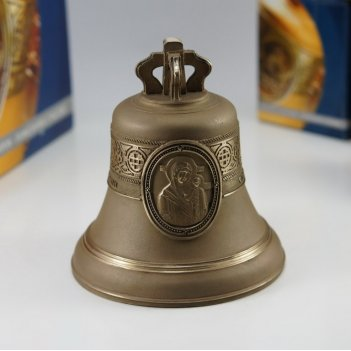 Колокол 1кг казанская икона божией матери