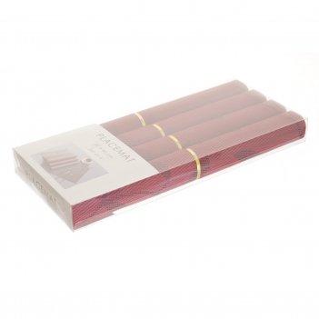 Набор подставок-салфеток под посуду royal classics (4 шт)