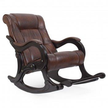 Кресло-качалка модель 77 венге/антик крокодил