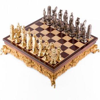 Шахматы цезарь 40х40см