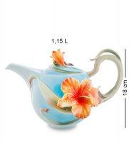 Fm-05/ 1 заварочный чайник лилии (pavone)