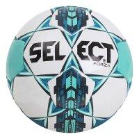 Мяч футб. select forza ., р.5, вес390-410 г,глянц.пу,л.к, руч.с,бел-зел-би