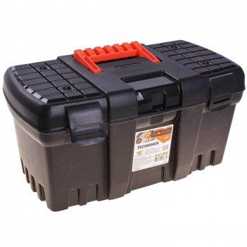 Ящик для инструментов techniker 15, черный без внутреннего ящика