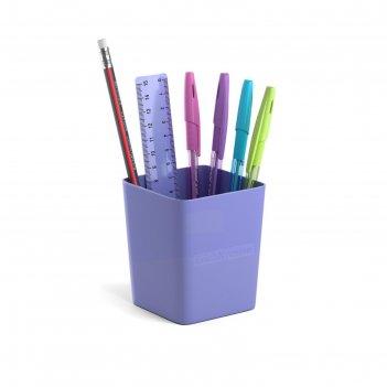Набор настольный канц 3 пред erichkrause base, pastel, фиолетовый 53308