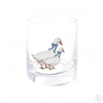 Набор стопок для водки as crystal гуси 60 мл (6 шт)