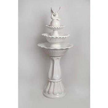 Напольный фонтан «два голубя»