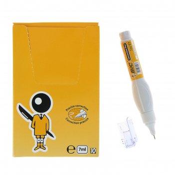 Ручка-корректор bic correction pen 7мл 918478