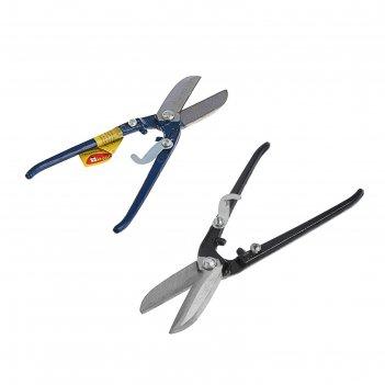 Ножницы по металлу hobbi, с фиксатором,  200 мм