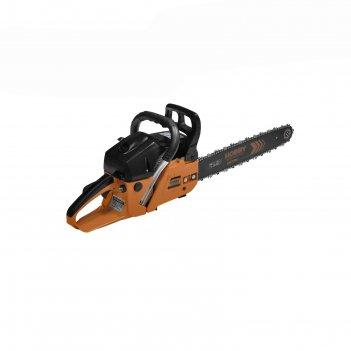 Пила carver hobby hsg 158-18, бензиновая, шина 18, 0.325-1.5-72 зв., 58 ку