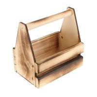 Ящик для инструментов и цветов(кашпо) 20*20*12,5см обожжённый