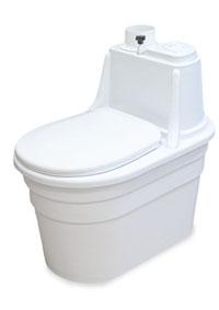 Торфяной компостирующий биотуалет biocomfort plus (с вентилятором)