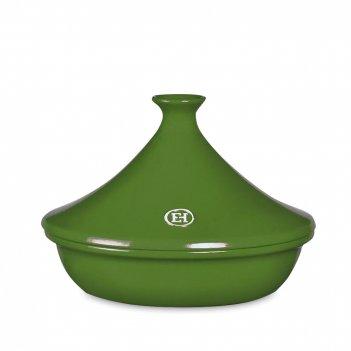 Тажин ii, объем: 3,5 л, материал: керамика, цвет: зеленый, emile henry, фр
