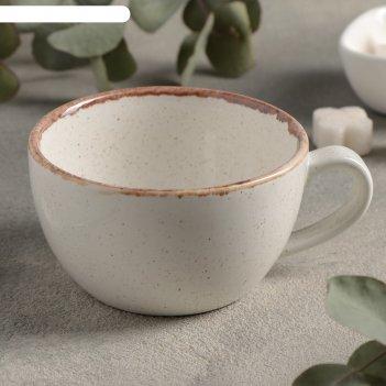 Чашка чайная 250 мл, цвет бежевый