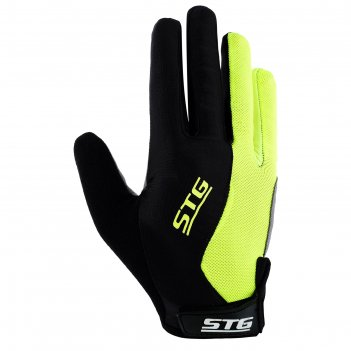 Перчатки велосипедные stg х87907, размер s