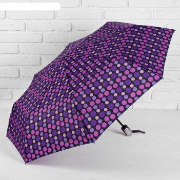Зонт автомат, r=53см, цвет фиолетовый