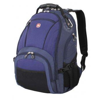 Рюкзак wenger, синий/чёрный, полиэстер 900d/хонейкомб, 35x19x44 см, 29 л
